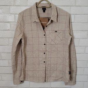 Patagonia womens heywood flannel shirt